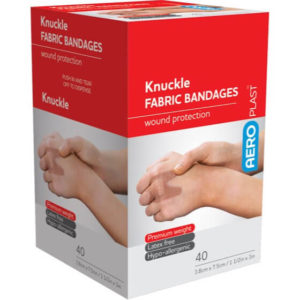 Fabric Knuckle Dressing 75mm x 38mm - PK40