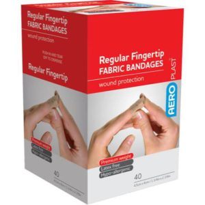 Fabric Fingertip Dressing 75mm x 45mm PK25