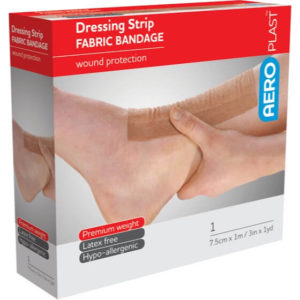product image of the AeroPlast Premium Fabric Bandages – Dressing Strips