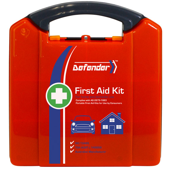 Defender Home First Aid Kit - Plastic