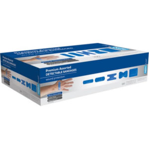 Assorted Detectable Plasters PK100