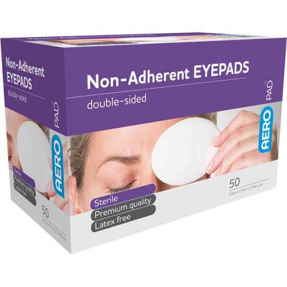Eye Pad - 5.5cm X 7.7cm Box of 50