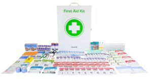 Commander Industrial Workplace First Aid Kit - Large Metal