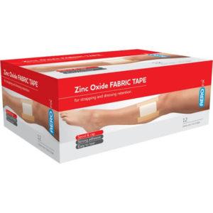 Zinc Oxide Tape - 2.5cm X 5M - Box 12