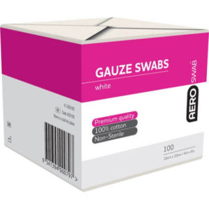 8 Ply Gauze Swab - 10cm X 10cm Pack of 100