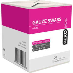 8 Ply Gauze Swab - 7.5cm X 7.5cm Pack of 100