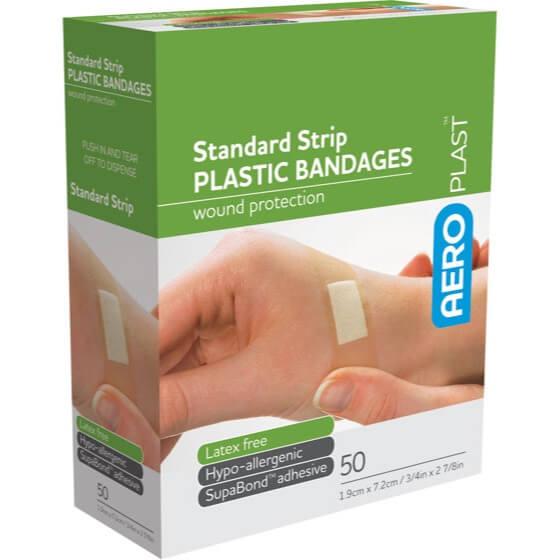 Plastic Strip 72mm x 19mm PK50