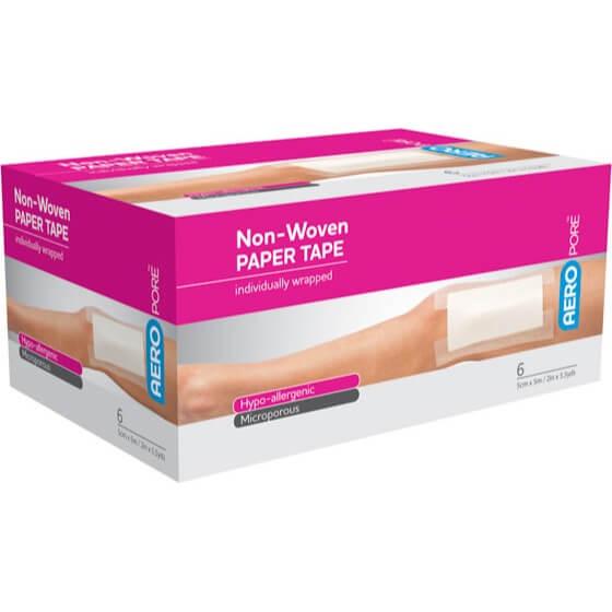 Microporous Paper Tape - 5cm X 5M - Box 6