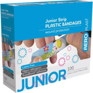 Junior Plastic Strip 72mm x 19mm PK100