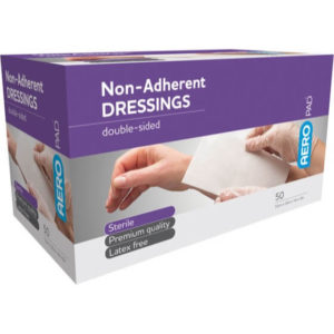 Low Adherent Dressing Pad 10cm X 20cm - Box 50