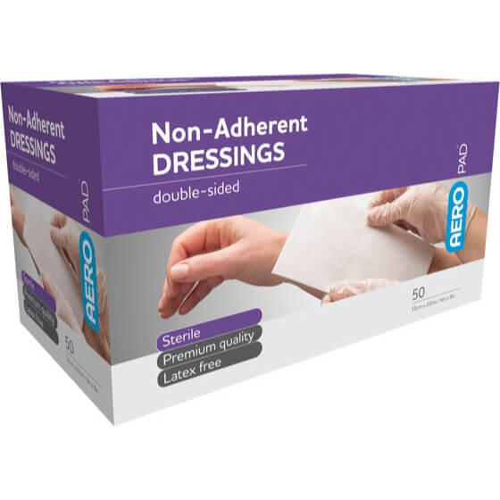 Low Adherent Dressing Pad 10cm X 20cm - Box 50