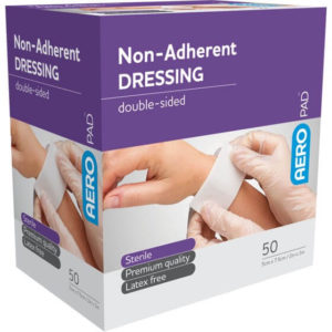 Low Adherent Dressing Pad 7.5cm X 5cm - Box 50