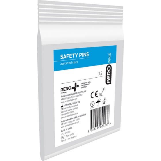 Safety Pins Bag of 12