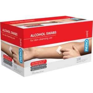 Alcohol Swabs - 2Ply Box of 100