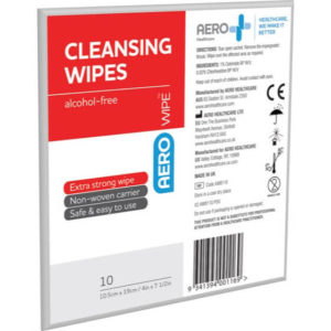 Alcohol-Free Cleansing Wipes - Env of 10