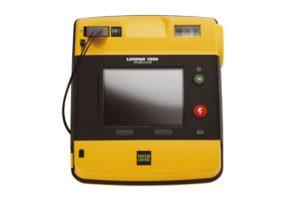 LIFEPAK 1000 Defibrillator Manual Override & ECG