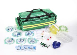 Oxygen Resus Kit Impervious PVC