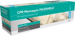 CPR Mannequin Faceshields Roll of 36