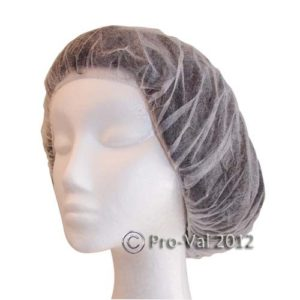 White Beret Hair Nets Ctn 1000