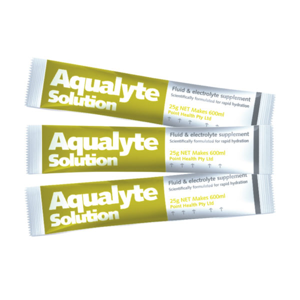 Aqualyte Lemon Lime 25g Sachets Carton 50