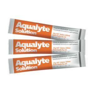 Aqualyte Organe 25g Sachets Carton 50