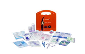 Voyager Basic First Aid Kit - Plastic