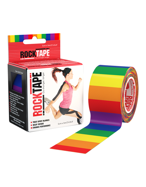 Rock Tape Rainbow 5cm x 5m