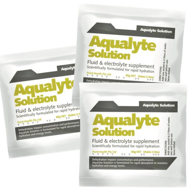 Aqualyte Lemon Lime 80g Sachets Carton 20