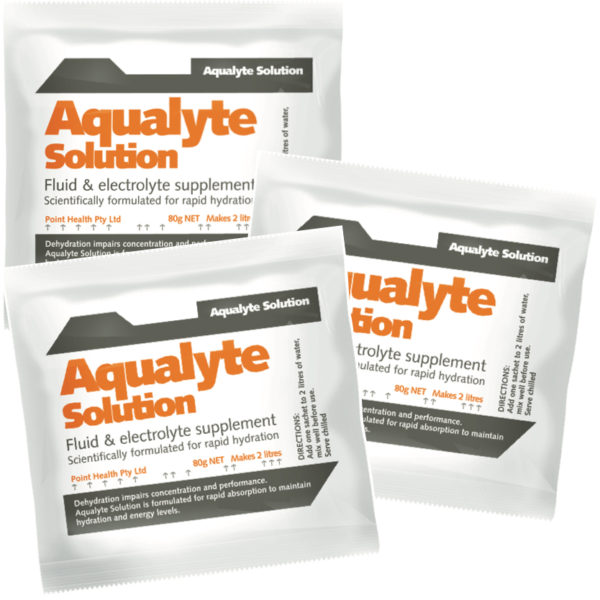 Aqualyte Orange 80g Sachets Carton 20