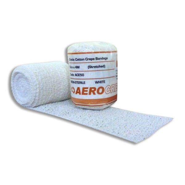 Elastic Cotton Crepe Bandage 5cm x 4m
