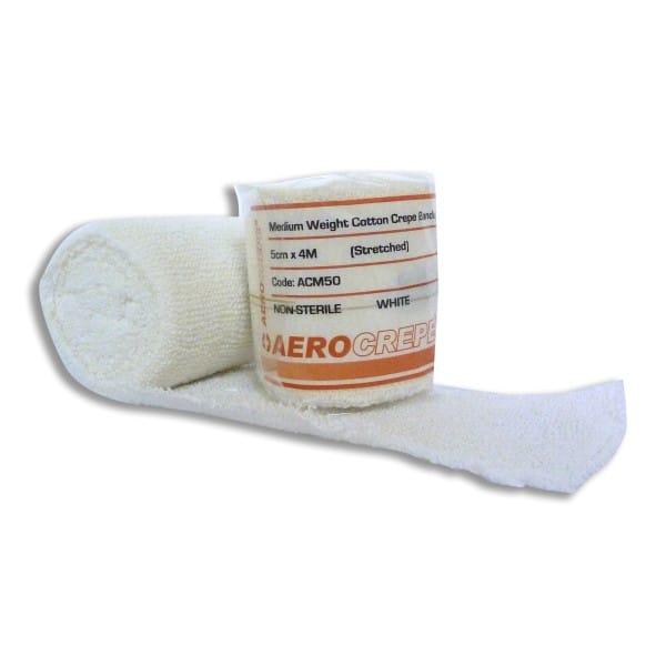 Medium Cotton Crepe Bandage 5cm x 4m Wrap 12
