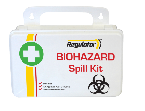 Regulator Biohazard Spill Kit - Plastic