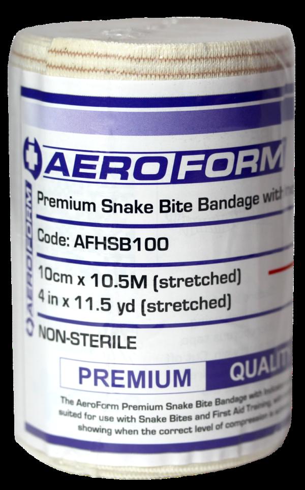 Single Premium Snake Bite Bandage with Indicator 10.5m
