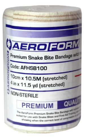 Single Premium Snake Bite Bandage with Indicator 4.5m