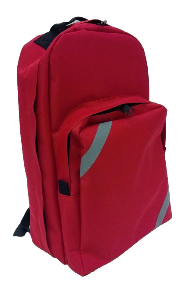 Red First Aid Backpack