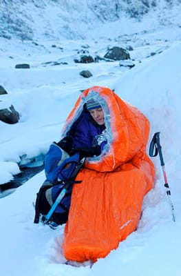 Blizzard Survival Bag - Orange
