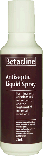 products Betadine Spray