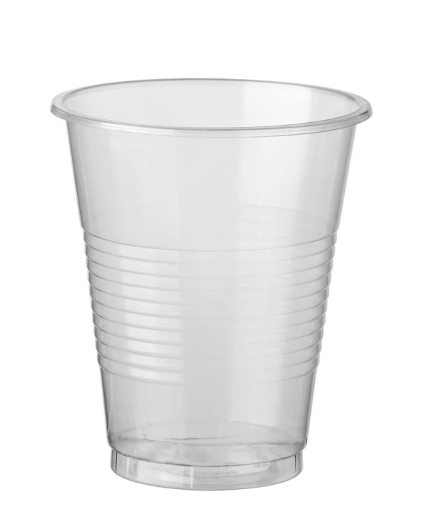 200ml Clear Plastic Cups Carton 1000