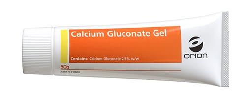 Calcium Gluconate Gel 50g Tube