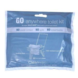 GO Anywhere Toilet Waste Kit