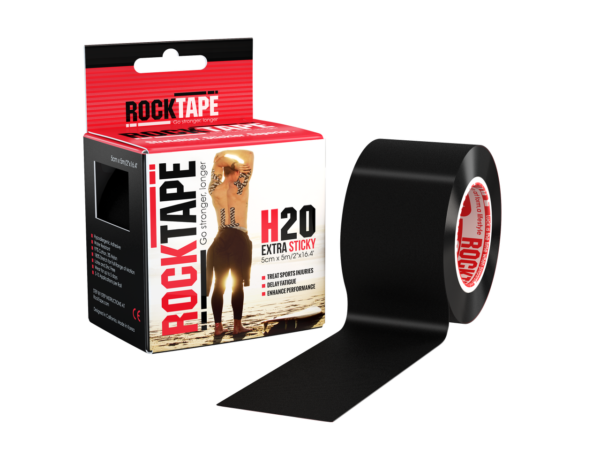 Waterproof RockTape Black 5cm x 5m