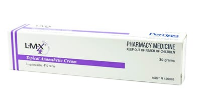 Topical Anaesthetic Cream 30g Tube