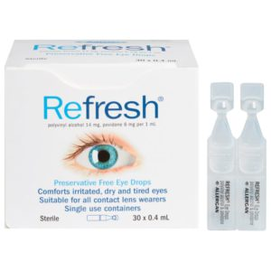 products Refresh Eye Drops Box 30
