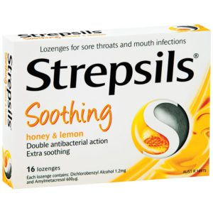 Strepsils Lemon & Honey Packet 16