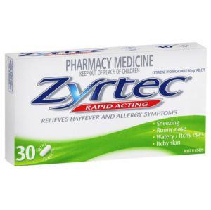 products Zyrtec