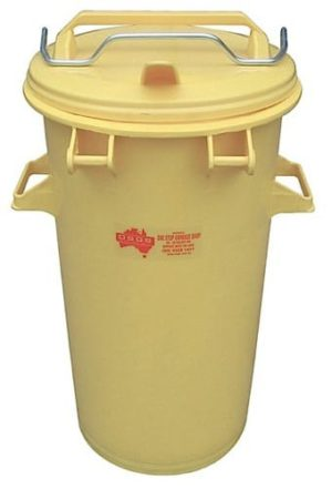50L Yellow Medical Waste Bin