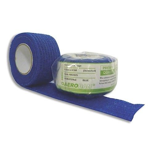 Cohesive Bandage 2.5cm X 4.5m Wrap 12