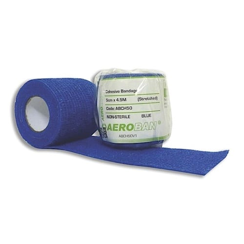 Cohesive Bandage 5cm X 4.5M Wrap 12