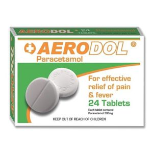 Paracetamol Tablets 500mg PK24
