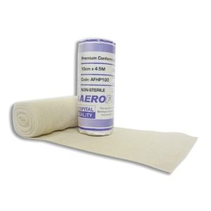 Premium Heavy Weight Conforming Bandage 10cm X 4.5m